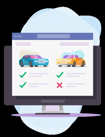 Comparer des devis d'assurances auto